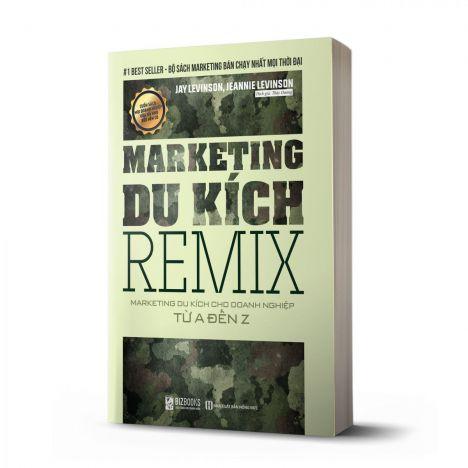 Marketing Du Kích Remix - Marketing du kích cho doanh nghiệp từ A-Z - avibooks