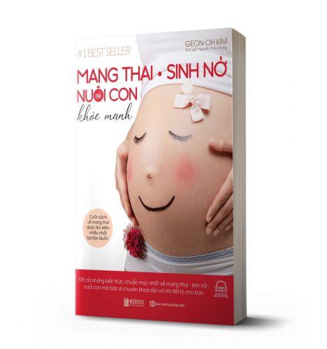 Mang Thai Sinh Nở Và Nuôi Con Khỏe Mạnh: Cuốn sách về mang thai được tìm kiếm nhiều nhất tại Hàn Quốc - avibooks