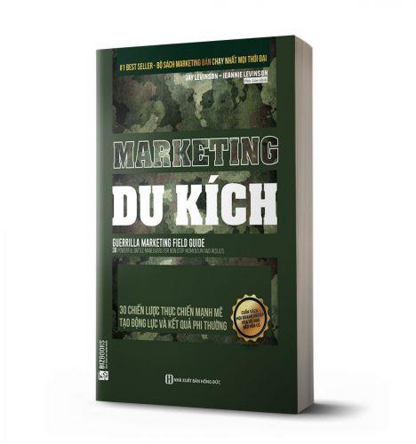 Marketing du kích: 30 chiến lược thực chiến mạnh mẽ tạo động lực và kết quả phi thường - avibooks