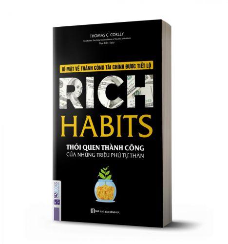 Rich Habits - Thói quen thành công của những triệu phú tự thân - avibooks